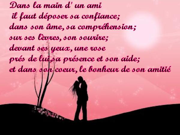 Citation Belle Rencontre Amiti