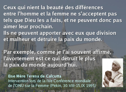 citation de Mére Teresa