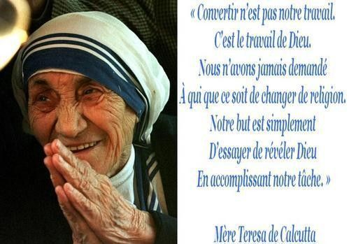 Citations De Mére Teresa