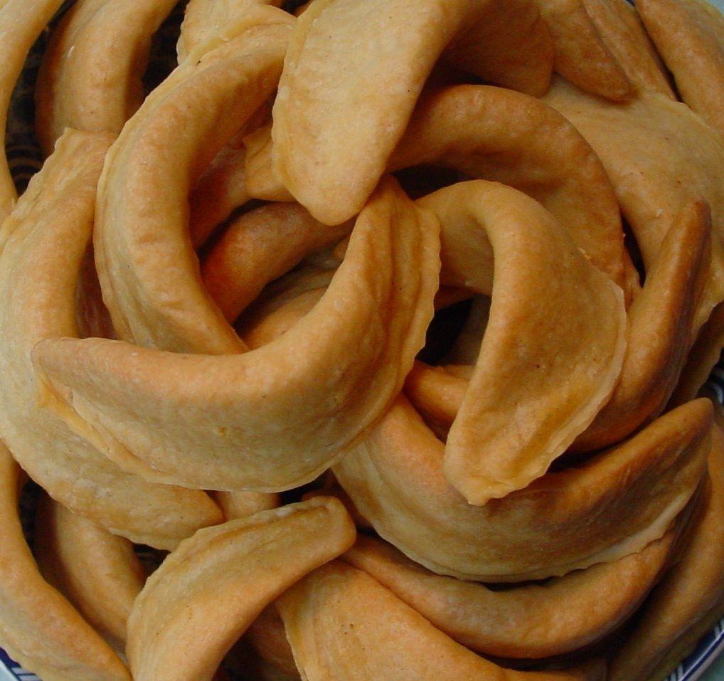 Gateau Algerien Corne De Gazelle: Cornes De Gazelles